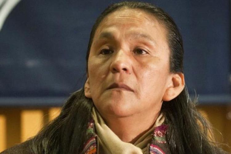 Vigilia en apoyo a Milagro Sala en Argentina