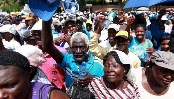 Haitians protest the Dominican government