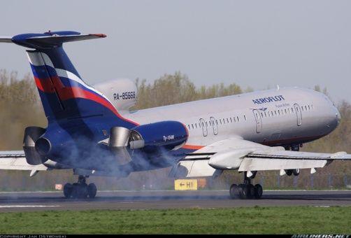 Vuelos de los aviones del tipo Tu-154 están suspendidos hasta conocer las causas del accidente ocurrido sobre el Mar Negro.