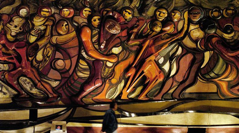 Hace 44 a os muri siqueiros pintor de la revoluci n for El mural de siqueiros