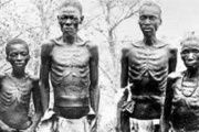 Unnamed Herero survivors of the Namibian genocide
