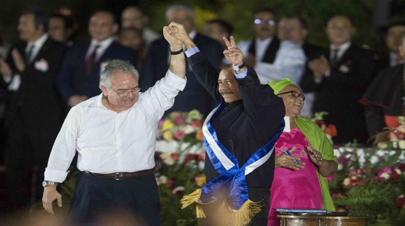 Daniel Ortega asumió su cuarto mandato presidencial y el tercero consecutivo.