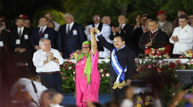 El nuevo periodo presidencial de Daniel Ortega culminará el 9 de enero de 2022.