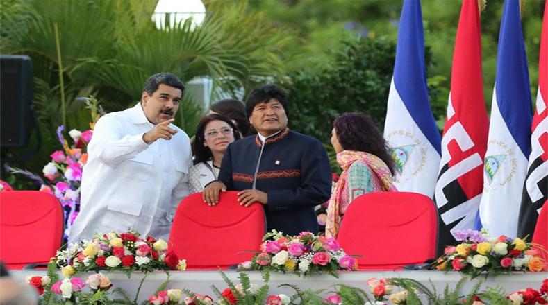 El mandatario venezolano Nicolás Maduro felicitó al pueblo de Nicaragua por consolidar la paz y la Revolución con la reelección del presidente Ortega.