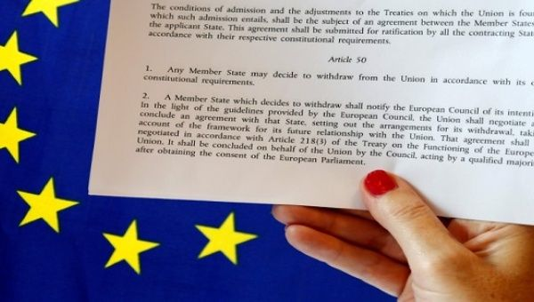 Article 50 of the EU