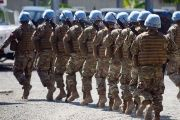 Members of the United Nations Stabilization Mission in Haiti, MINUSTAH.