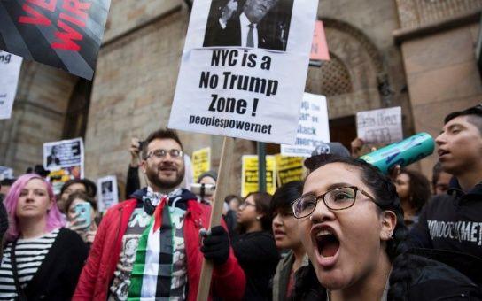 Nueva York volverá a ser escenario de protestas contra Donald Trump