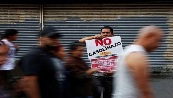 Las protestas por el gasolinazo en México dejaron seis muertos y alrededor de mil detenidos.