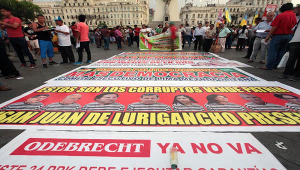 Primer detenido en Perú por los sobornos de Odebrecht