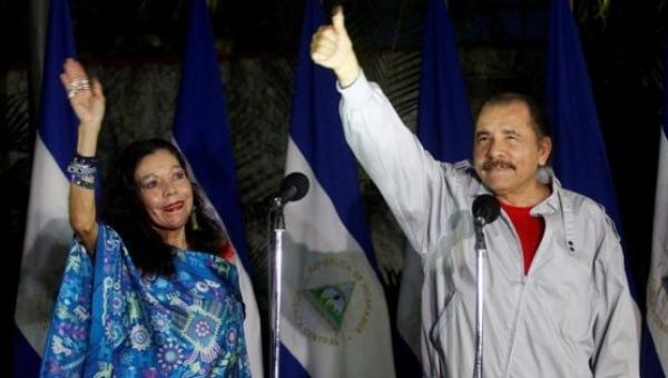 President Daniel Ortega and Vice-President Rosario Murillo just won a landslide election in Nicaragua.