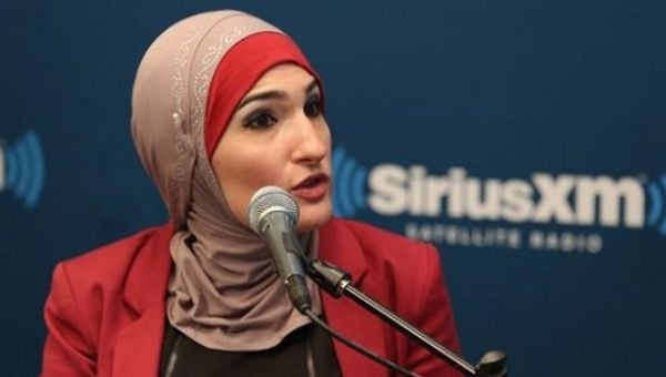 Palestinian-American activist Linda Sarsour was a co-chair of the Women