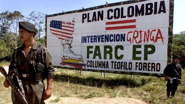 Plan Colombia was a counterinsurgency military aid package launched by U.S. President Bill Clinton in 1999.