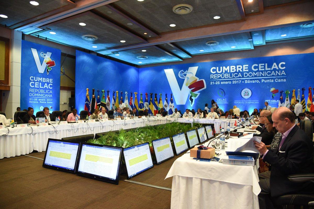 Comienza hoy en República Dominicana la V Cumbre de la CELAC