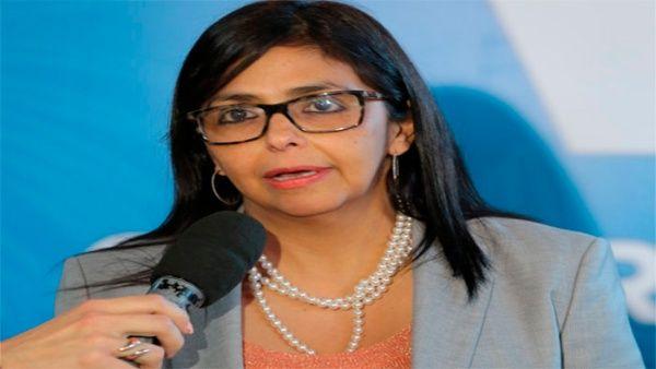 """Con respecto a la CELAC, Rodríguez afirmó: """"Nuestros paísesdebenestablecer relaciones de cooperación y respeto""""."""