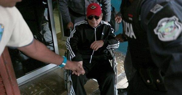 """Manuel Antonio Noriega, conocido alguna vez como """"El Hombre Fuerte de Panamá""""."""