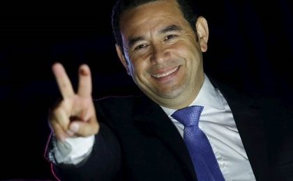 President Jimmy Morales of Guatemala cannot make ends meet with 40% of his salary — US$7,500 per month.