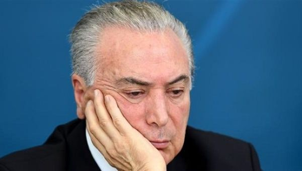 Temer has been accused of knowing about the corruption scheme and participating in it.