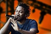 Kendrick Lamar at the Orange Stage, Roskilde Festival July 3, 2015