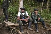 The guerrilla camp is located in a rural area of Policarpa, in the Nariño department.