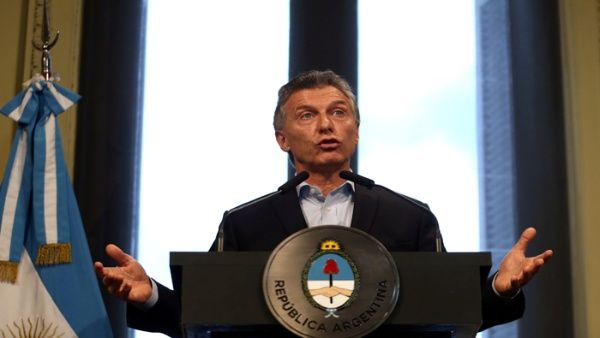 """El eslogan """"Pobreza cero"""" fue solo eso, un eslogan de campaña, aseguró el presidente Macri."""