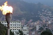 Venezuela's Homeland Flame represents the passion-fire of former President Hugo Chavez
