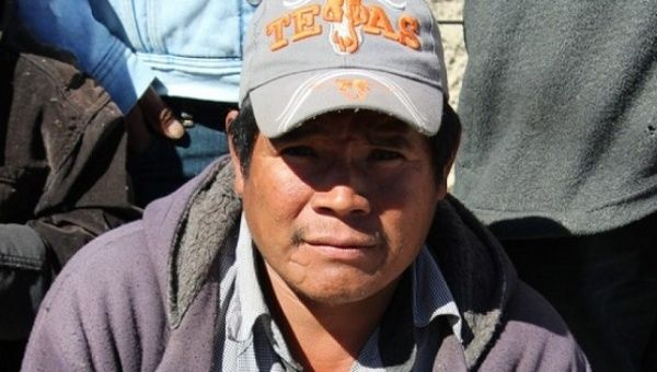 Juan Ontiveros Ramos, an Indigenous activist and defender of ancestral lands in the Sierra Tarahumara
