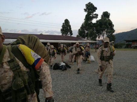 Los primeros pasos de la paz recorridos por las FARC-EP