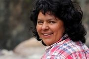 Lencan leader and environmental activist Berta Caceres