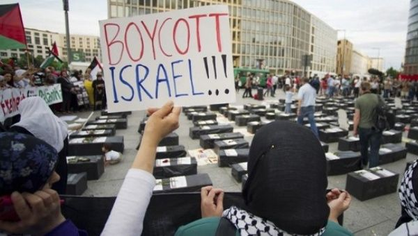 Demonstration against Israel
