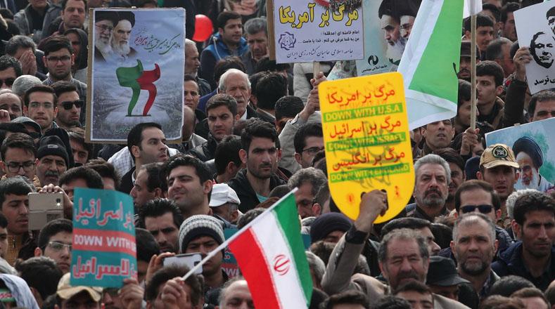 El pueblo iraní respalda en las calles la Revolución Islámica