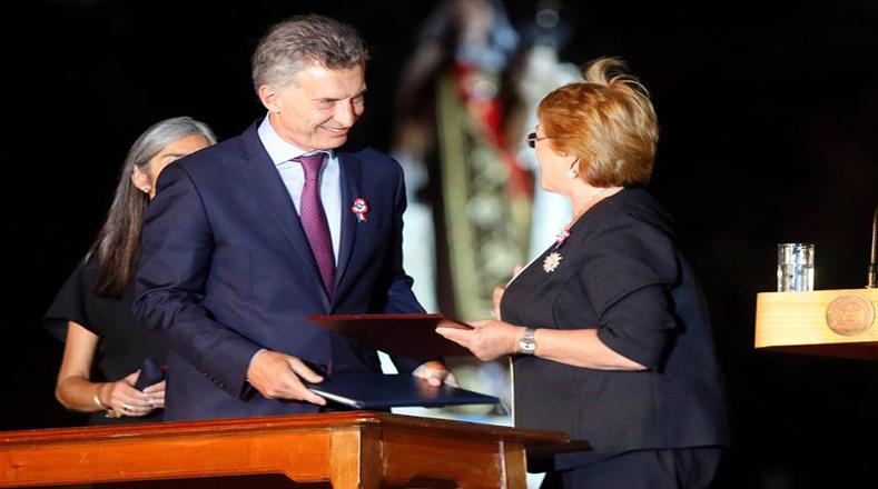 Chile y Argentina buscan fortalecer la Alianza del Pacífico