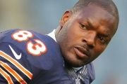 The New England Patriots tight end Martellus Bennett.