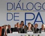 The Launch of peace talks between the ELN and Colombian government in Quito, Ecuador, Feb. 7, 2017.