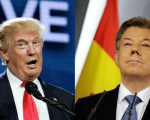Presidents Trump and Santos held a phone call on Saturday where they talked about cooperation.