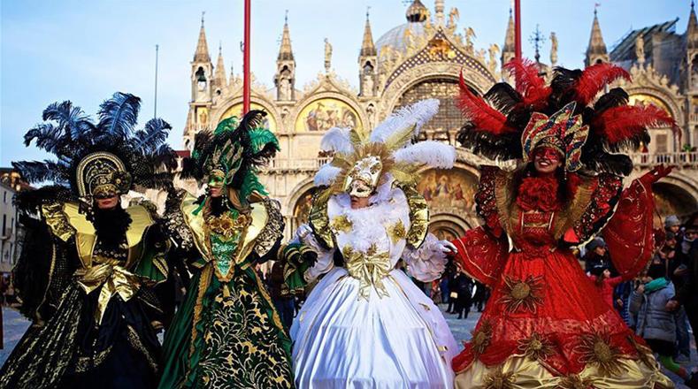 Carnaval de Venecia 2017 inicia entre colores y trajes ...