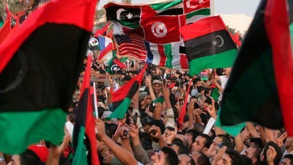Las protestas en Libia fueron impulsadas por Estados Unidos y la OTAN.