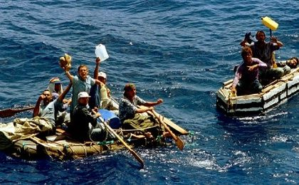 Under the previously policy, Cubans were exlusivley given residency after landing on U.S. soil.