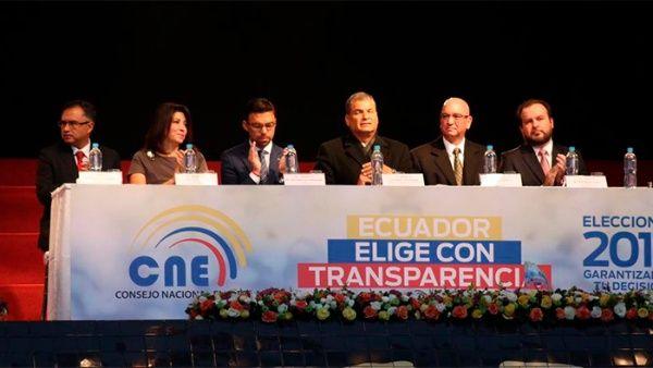 Resultado de imagen para elecciones ecuador fraude