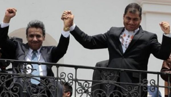 Lenin Moreno (L) and Ecuador