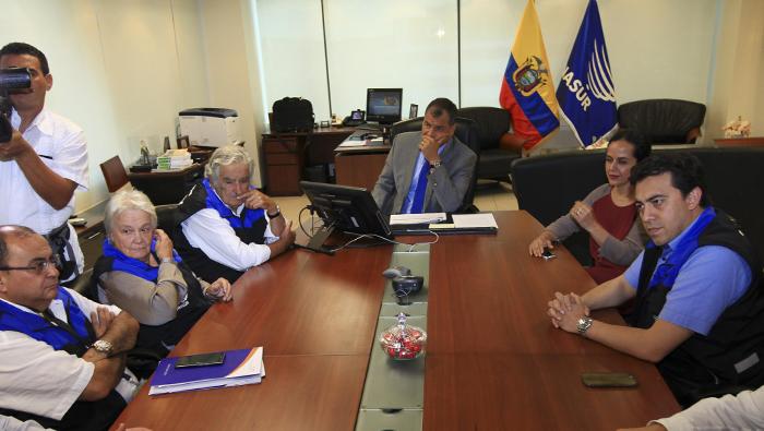 Unasur descarta fraude electoral en Ecuador por demora de resultados