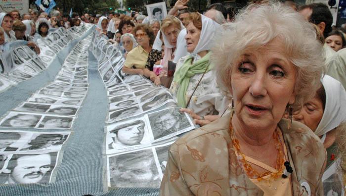 La representante de la organización manifestó que nunca defenderán a los acusados de crímenes de lesa humanidad.