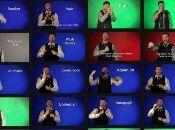 Giphy ha publicado una biblioteca con más de 2.000 palabras y frases en lenguaje de signos americano.