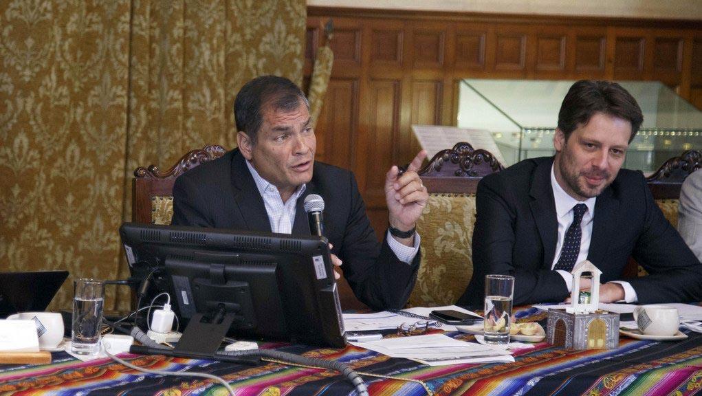 """""""Vamos a la segunda vuelta en Ecuador y los volveremos a derrotar el 2 de abril"""", vaticina Correa"""