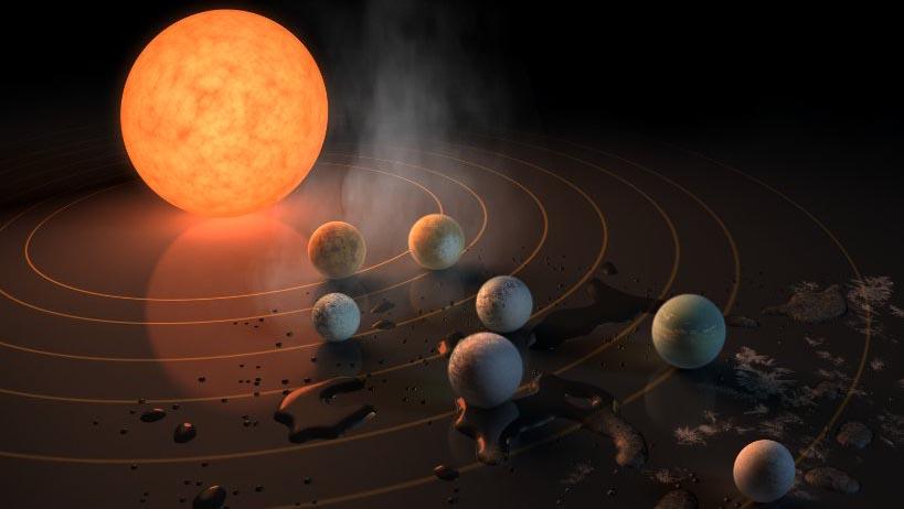 Google festeja descubrimiento de exoplanetas con un doodle
