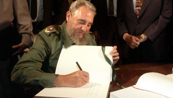 Cuban revolutionary leader and former President Fidel Castro died in Havana, Cuba, Nov. 25, 2016.