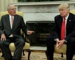 U.S. President Donald Trump and Peru's Pedro Pablo Kuczunski hold a joint press conference.