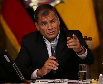 Correa alerta: propuestas de la derecha perjudicarían al pueblo