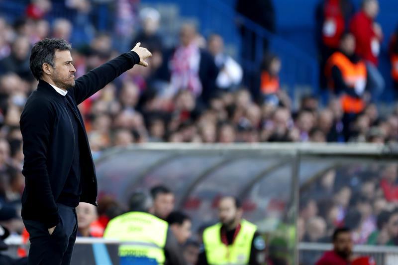 Luis Enrique se va como DT del Barcelona