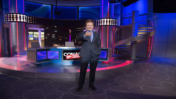 Conan without borders: Made in Mexico fue grabado en el país latinoamericano.
