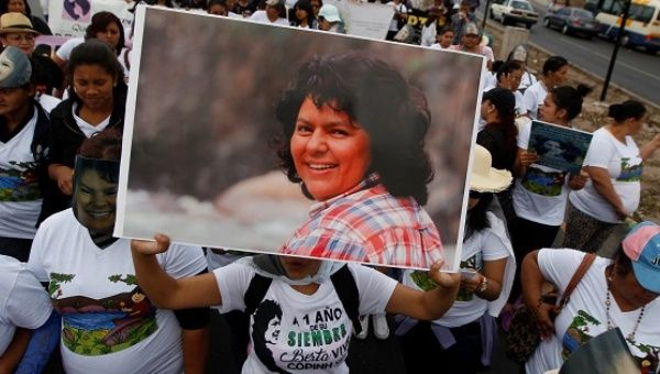 Indigenous rights and resistance leader Berta Caceres was murdered just before midnight on March 2, 2016 in her home in Honduras.
